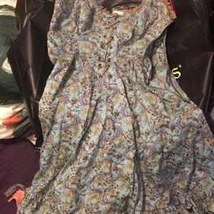 Betsey Johnson strapless dress